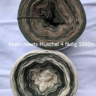Khaki meets Muschel